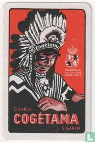 Speelkaart Cogétama sigaren