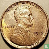 Vereinigte Staaten 1 Cent 1917 (ohne Buchstabe - Typ 1)