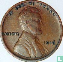 Vereinigte Staaten 1 Cent 1916 (ohne Buchstabe)