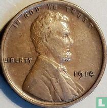 Vereinigte Staaten 1 Cent 1914 (ohne Buchstabe)