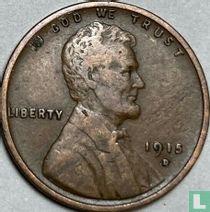 Vereinigte Staaten 1 Cent 1915 (D)