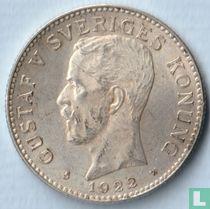 Zweden 2 kronor 1922