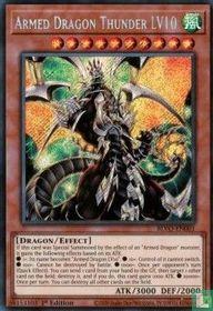 Armed Dragon Thunder LV10 (V.1 - Secret Rare)