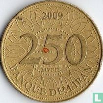 Libanon 250 livres 2009