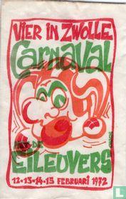 Vier in Zwolle Carnaval met de Eileuvers