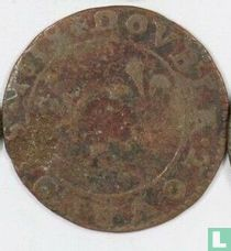France double tournois  1639 (principality of Arches-Charleville)