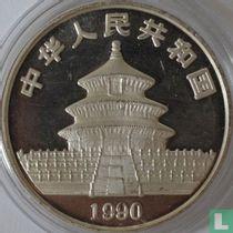 """China 10 yuan 1990 (zilver) """"Panda"""""""