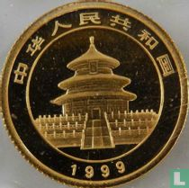 "China 5 yuan 1999 ""Panda"""