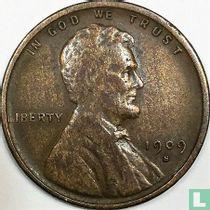 Vereinigte Staaten 1 Cent 1909 (Lincoln - S - mit VDB)