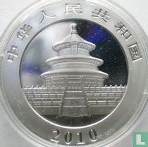 "China 10 yuan 2010 (gekleurd) ""Panda"""