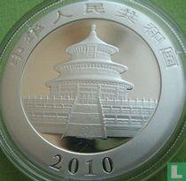 "China 10 yuan 2010 (gedeeltelijk verguld) ""Panda"""