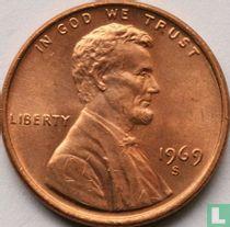 Vereinigte Staaten 1 Cent 1969 (S - Typ 1)