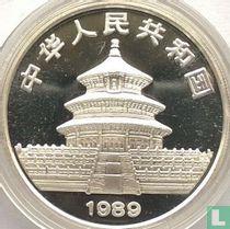 """China 10 yuan 1989 (zilver) """"Panda"""""""