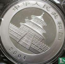 "China 10 yuan 2004 (kleurloos) ""Panda"""