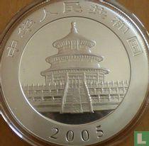 "China 10 yuan 2005 (gekleurd) ""Panda"""