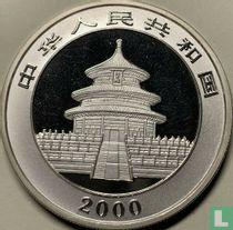 """China 10 yuan 2000 (PROOF - zilver) """"Panda"""""""