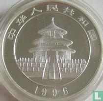 """China 10 yuan 1996 (zilver) """"Panda"""""""