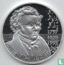 """Oostenrijk 25 ecu 1997 """"Schubert"""""""