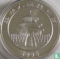 """China 10 yuan 1995 (zilver - type 1) """"Panda"""""""