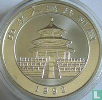 """China 10 yuan 1992 (zilver) """"Panda"""""""