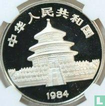"China 10 yuan 1984 (PROOF) ""Panda"""