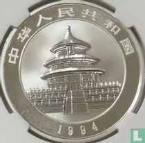 """China 10 yuan 1994 (zilver) """"Panda"""""""