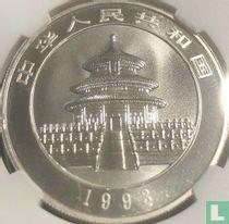 """China 10 yuan 1993 (zilver) """"Panda"""""""