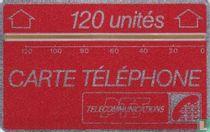 Carte Téléphone 120 unités