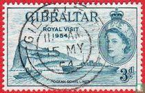 Bezoek Koningin Elizabeth II