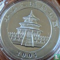 """China 100 yuan 2005 (PROOF - palladium) """"Panda"""""""