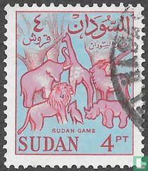 Wilde dieren in Soedan