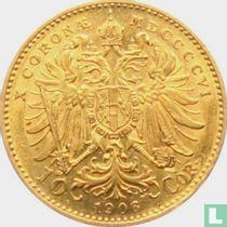 Austria 10 corona 1906