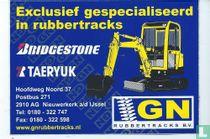Exclusief gespecialiseerd in rubbertracks