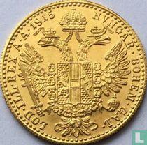Austria 1 ducat 1915