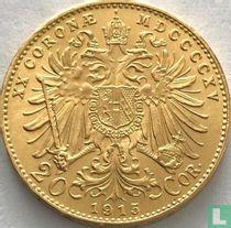 Austria 20 corona 1915