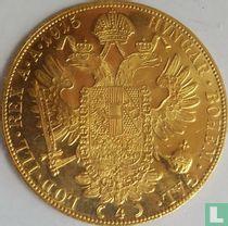 Austria 4 ducats 1915