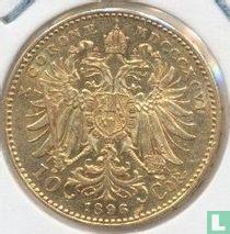 Austria 10 corona 1896