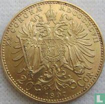 Austria 20 corona 1897
