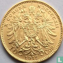 Austria 10 corona 1912