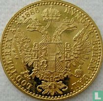 Austria 1 ducat 1886