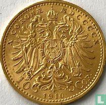 Austria 10 corona 1910