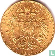 Austria 20 corona 1896