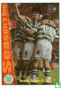Berwick Rangers 0 Celtic 7