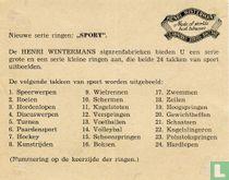 Beschrijvingskaart - Serie Sport