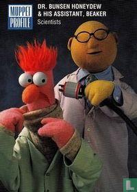 Dr.Bunsen Honeydew & His Assistant, Beaker