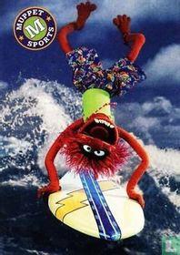 Surfin' Like an Animal!