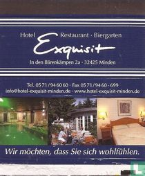 Hotel Restaurant Biergarten Exquisit