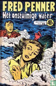Het onstuimige water