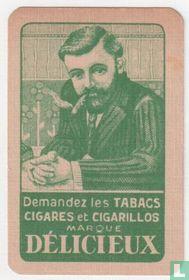 Demandez les tabacs cigares et cigarillos marque Délicieux