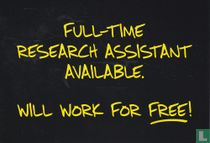 """Blackboard """"Full-Time Research Assistant"""""""